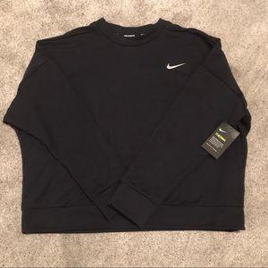 Black Nike Running Sweatshirt NWT